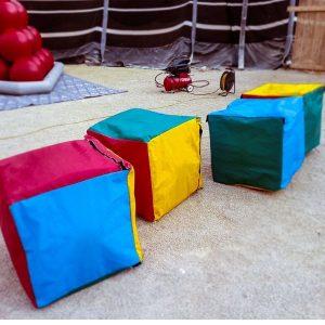 פעילות גיבוש - קוביות בצבעים